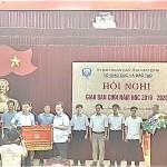 Ngành Giáo dục và Đào tạo huyện Nam Trực được vinh danh tại hội nghị sơ kết 6 tháng cuối năm của sở Giáo dục và Đào tạo tỉnh Nam Định